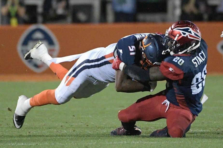 La première saison del'Alliance of American Football pourrait... (PHOTO PHELAN M. EBENHACK, ARCHIVES ORLANDO SENTINEL)