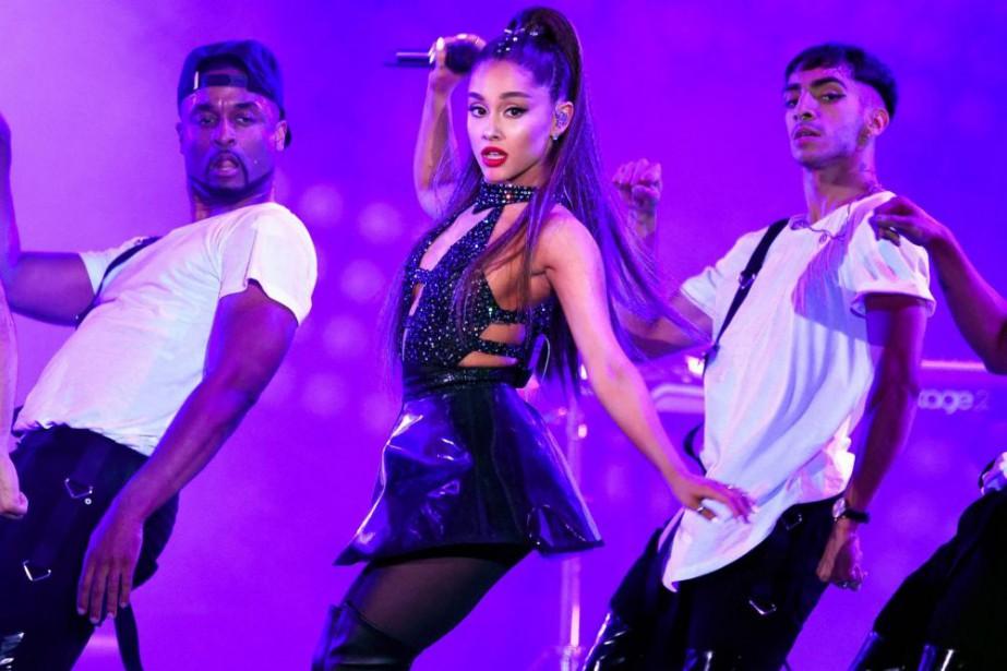 Ariana Grande à Los Angeles en juin dernier.... (PHOTOCHRIS PIZZELLO, ARCHIVES INVISION/ASSOCIATED PRESS)