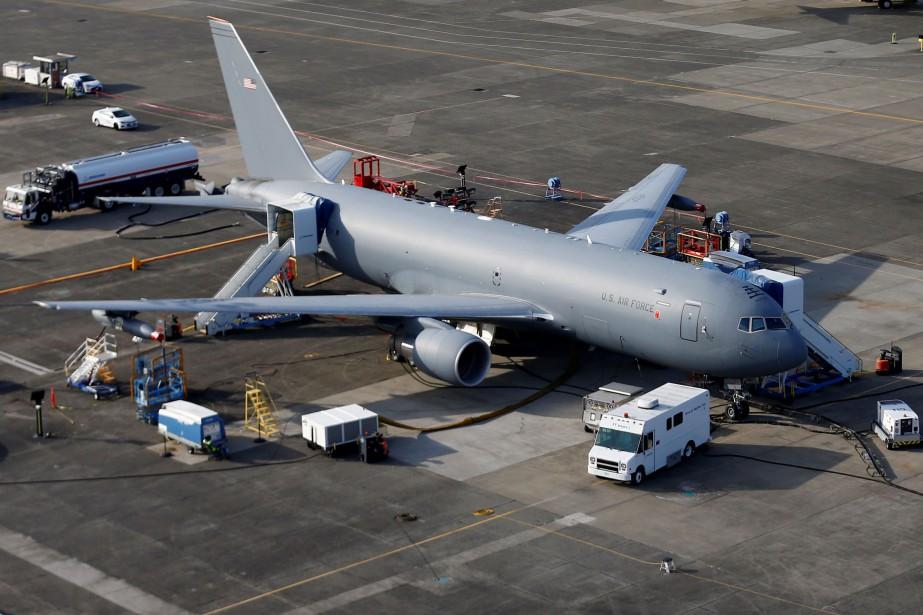 Un KC-46A Pegasus.... (PHOTO LINDSEY WASSON, REUTERS)