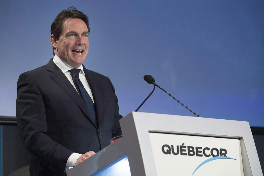 Pierre Karl Péladeau... (PHOTO GRAHAM HUGHES, LA PRESSE CANADIENNE)