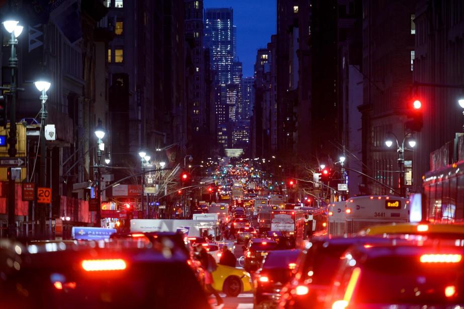 La ville de New York implantera en 2021... (PHOTO JOHANNES EISELE, ARCHIVES AGENCE FRANCE-PRESSE)