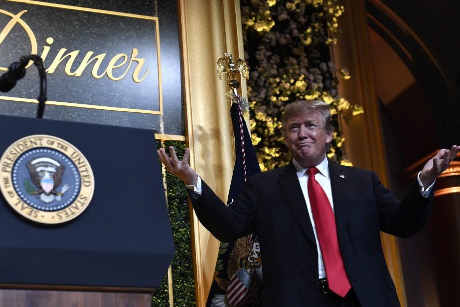 Le président américain Donald Trump... (PHOTO SUSAN WALSH, ASSOCIATED PRESS)