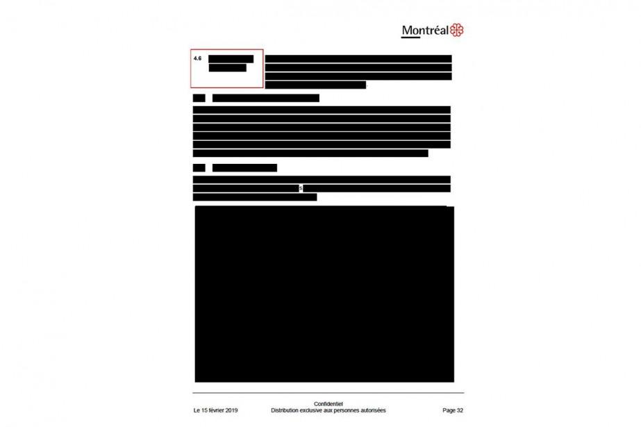 Sur 47 pages du rapport, 33 sont entièrement...