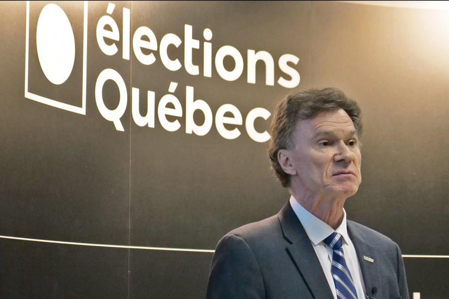Le directeur général des élections du Québec, Pierre... (PHOTO ARCHIVES LE SOLEIL)