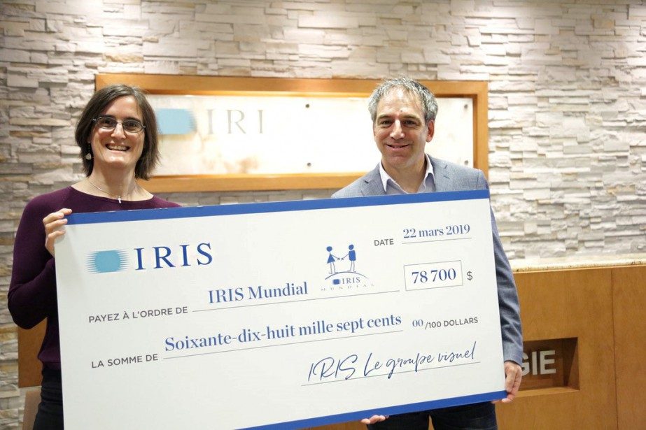 Julie Roegiers et Éric Babin.... (Photo fournie par Iris Mundial)
