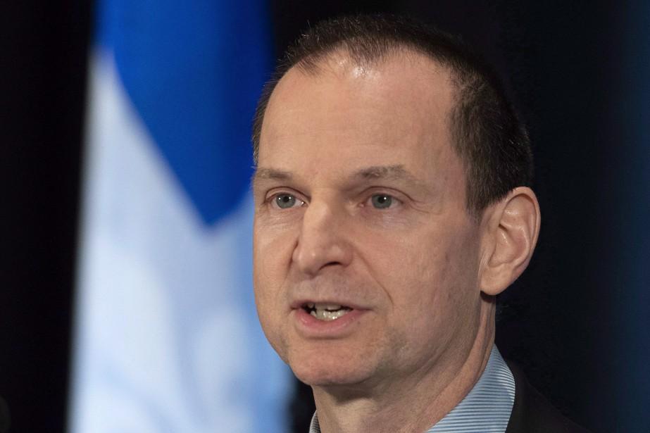 Le ministre québécois des Finances, Eric Girard... (PHOTO JACQUES BOISSINOT, ARCHIVES LA PRESSE CANADIENNE)