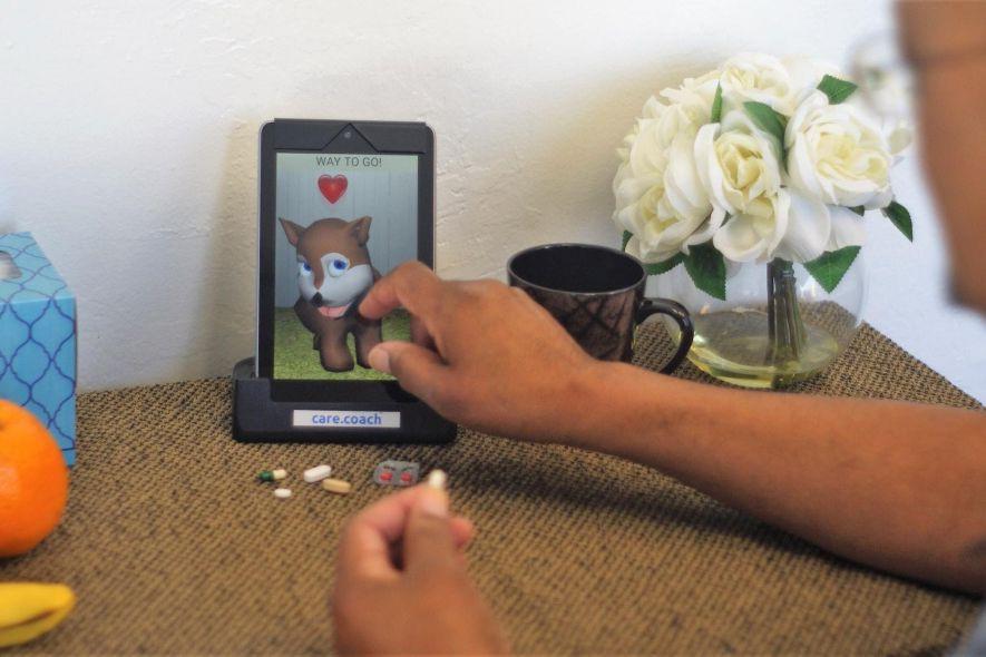 Care.coach fournit un compagnon virtuel aux personnes âgées.... (PHOTO FOURNIE PAR CARE.COACH)