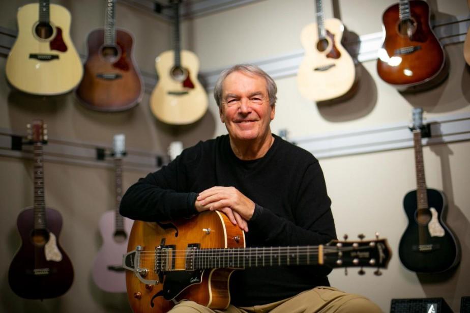 À 70ans, Robert Godin, fondateur de Guitares Godin,... (PHOTO DAVID BOILY, LA PRESSE)