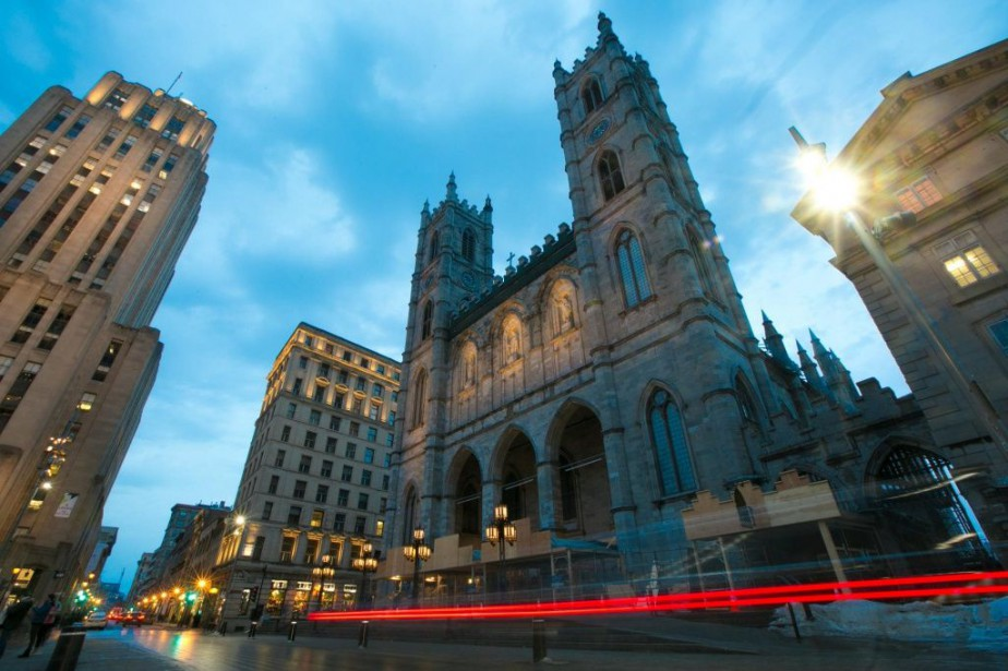 La basilique Notre-Dame porte le même nom que... (PHOTO FRANÇOIS ROY, LA PRESSE)