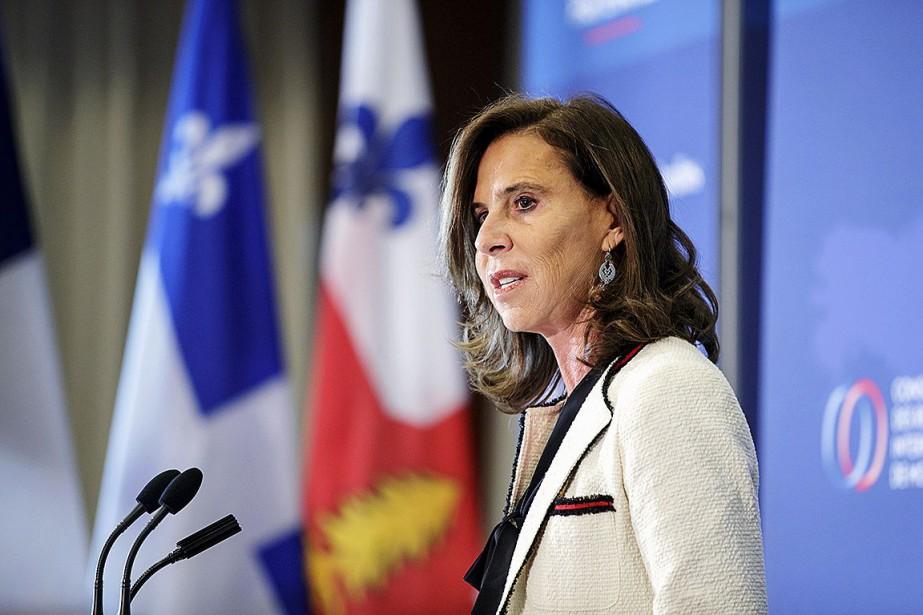 L'ambassadrice de France au Canada, Kareen Rispal, compte... (PHOTO ALAIN ROBERGE, ARCHIVES LA PRESSE)