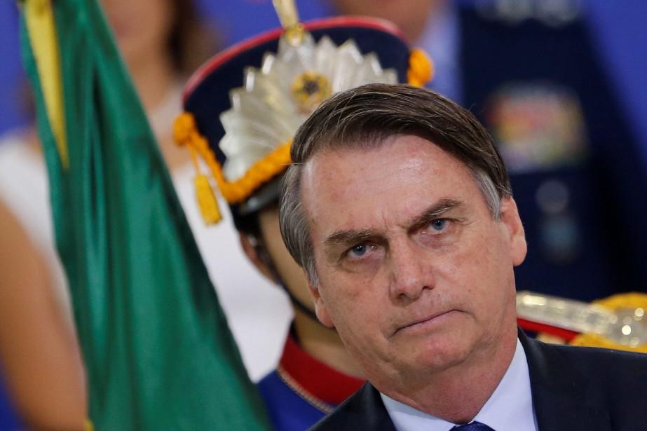 Le président d'extrême droite Jair Bolsonaro atteindra mercredi... (PHOTO ADRIANO MACHADO, REUTERS)