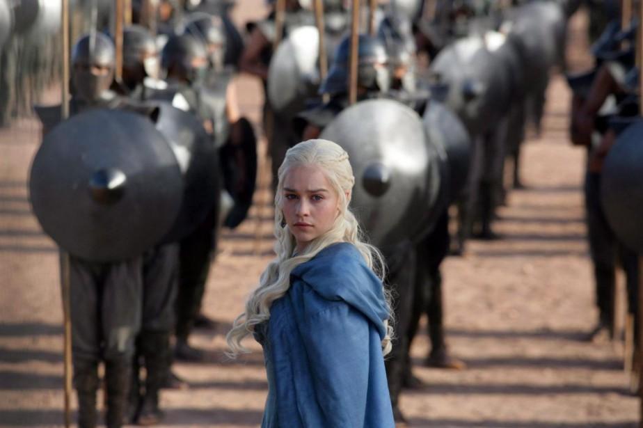Daenerys Targaryen... (PHOTO FOURNIE PAR HBO)