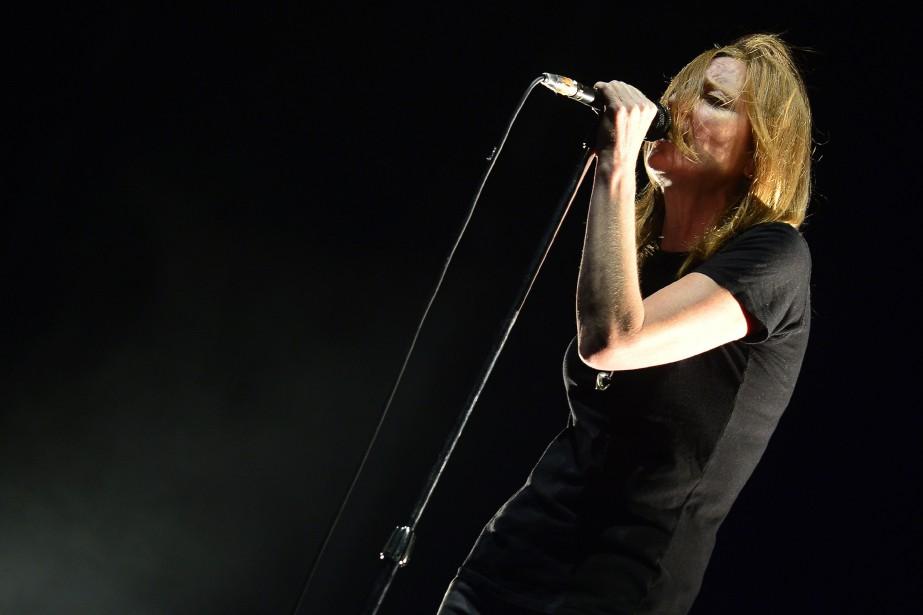 La chanteuse britannique Beth Gibbons en 2015... (PHOTO JOSE JORDAN, ARCHIVES AGENCE FRANCE-PRESSE)