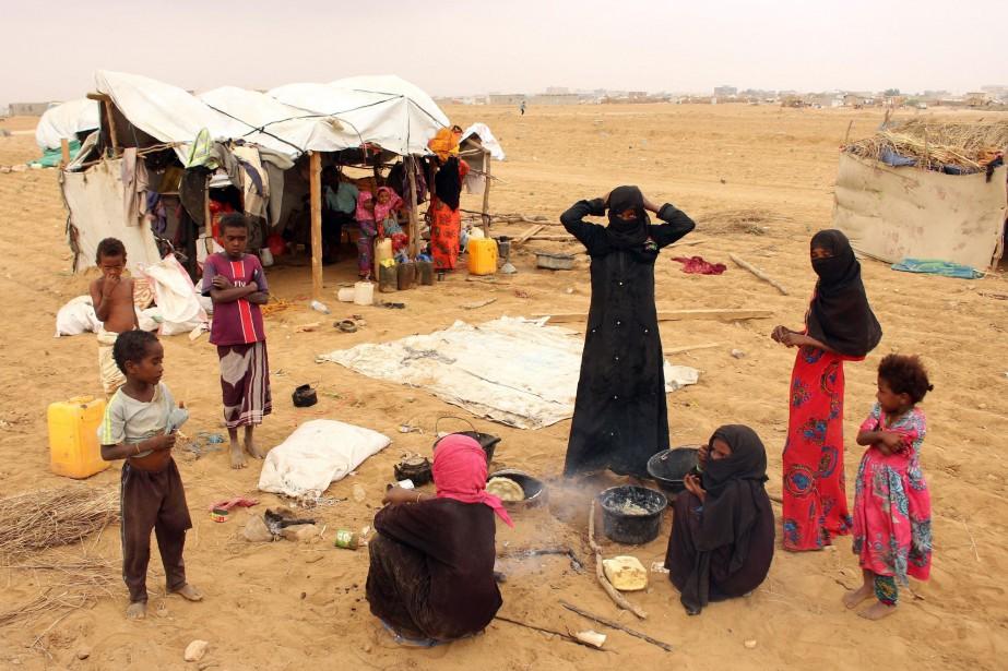 Le conflit, qui a provoqué la pire catastrophe... (PHOTO ESSA AHMED, AFP)