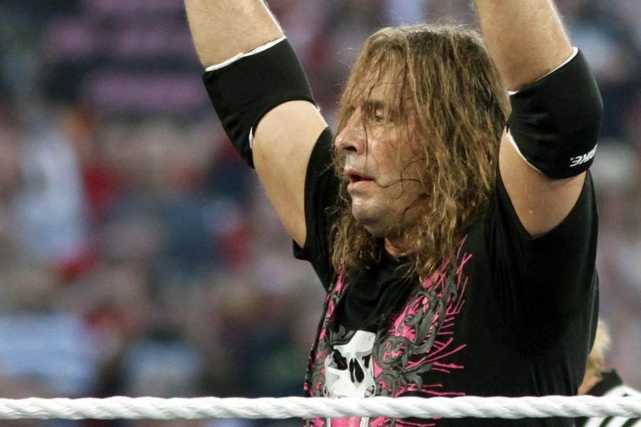 Le lutteur Bret «The Hitman» Hart... (PHOTO RICK SCUTERI, ARCHIVES ASSOCIATED PRESS)