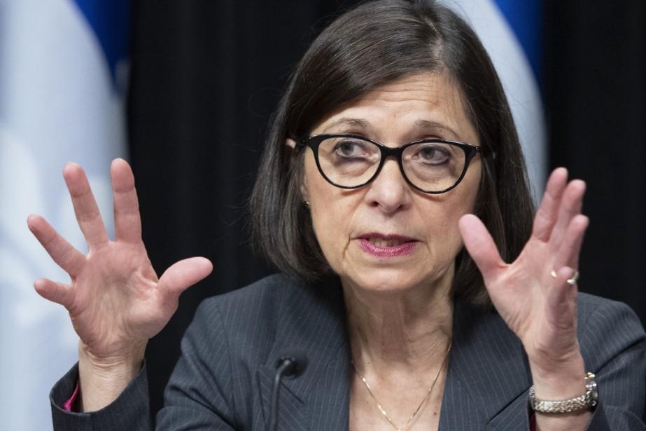 La ministre Danielle McCann dit comprendre l'impatience des... (PHOTO JACQUES BOISSINOT, LA PRESSE CANADIENNE)