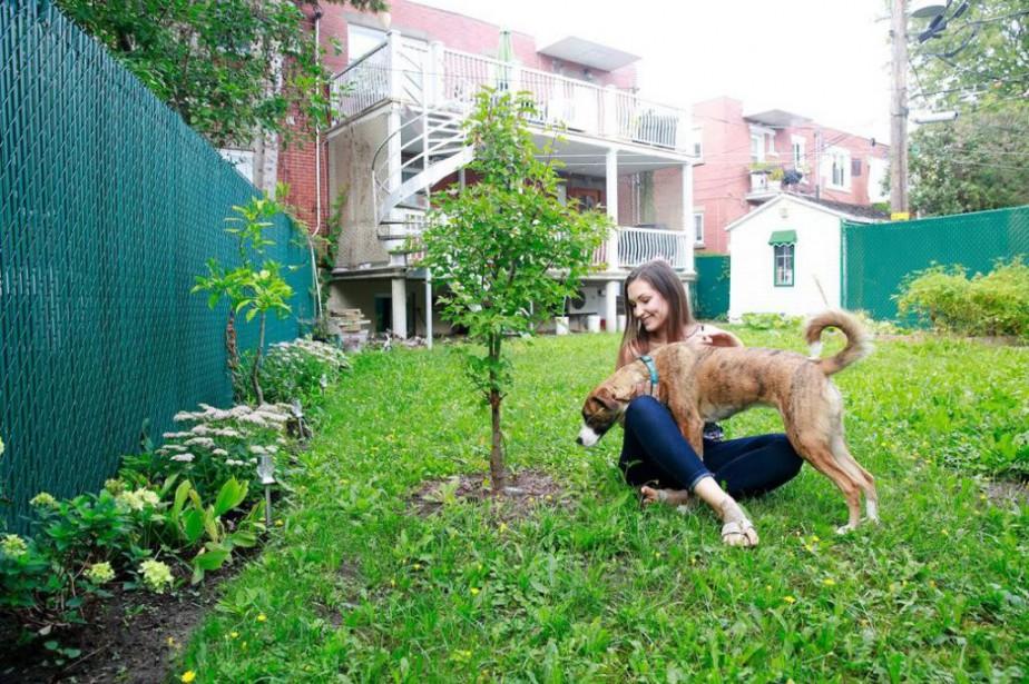 L'initiative Un arbre pour mon quartier permet de... (PHOTO FOURNIE PAR LA VILLE DE MONTRÉAL)