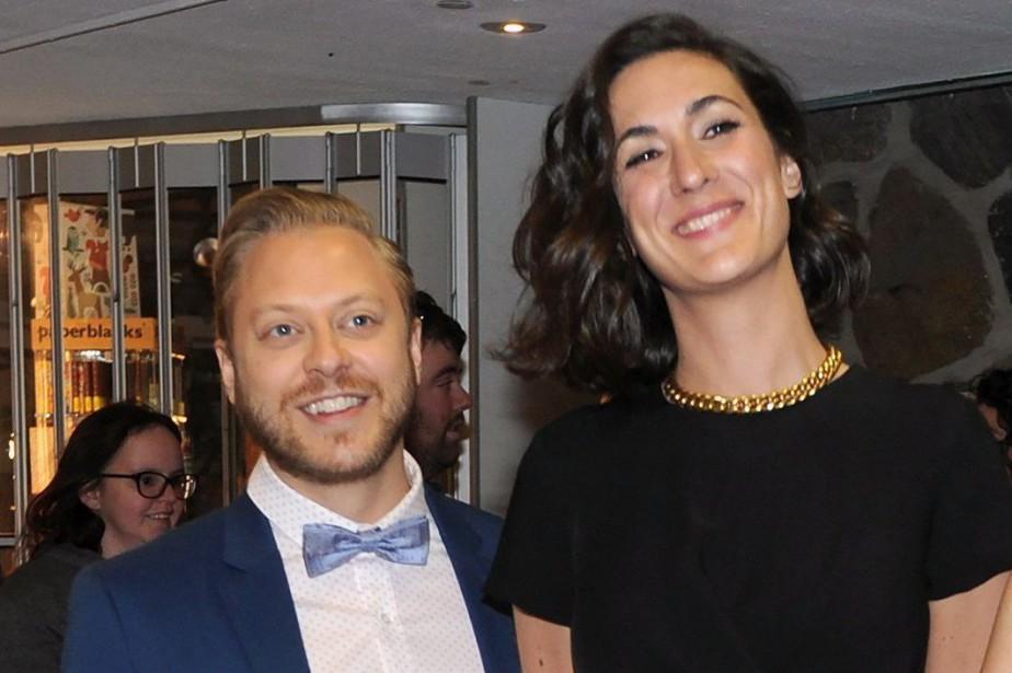 Guillaume Lambert et Karine Gonthier-Hyndman.... (PHOTO GRAHAM HUGHES, ARCHIVES LA PRESSE CANADIENNE)