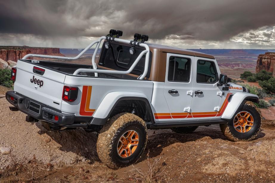 Jeep Gladiator JT Scrambler | 8 avril 2019