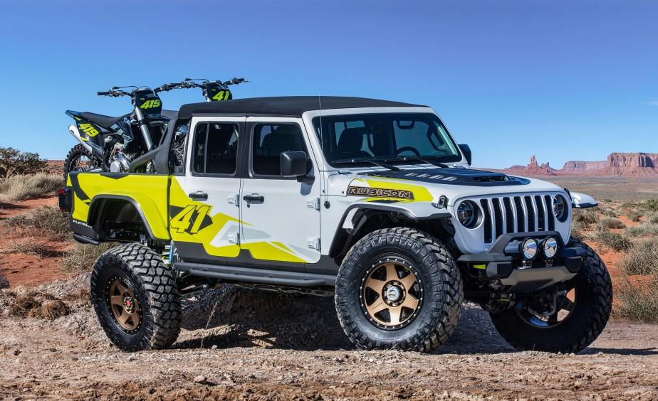 Jeep Gladiator Flatbill | 8 avril 2019