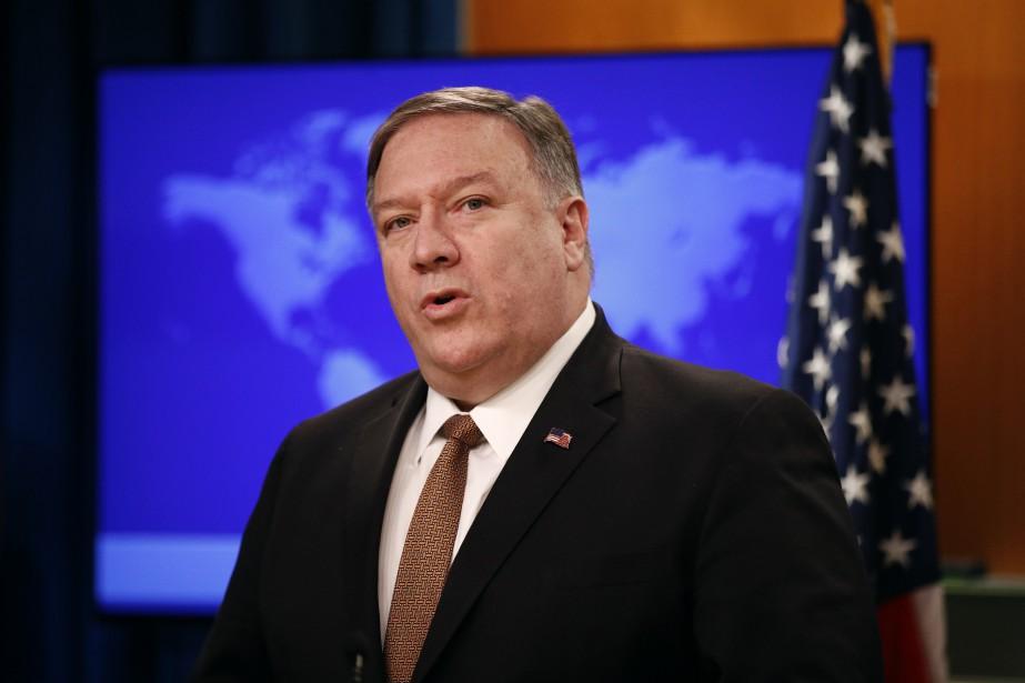 Le secrétaire d'État américain Mike Pompeo.... (PHOTO PATRICK SEMANSKY, AP)