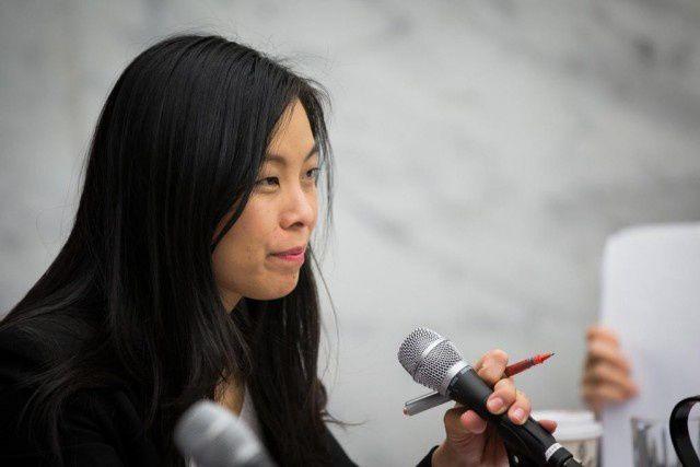 La conseillère d'Ensemble Montréal Cathy Wong siègera désormais... (PHOTO OLIVIER PONTBRIAND, ARCHIVES LA PRESSE)
