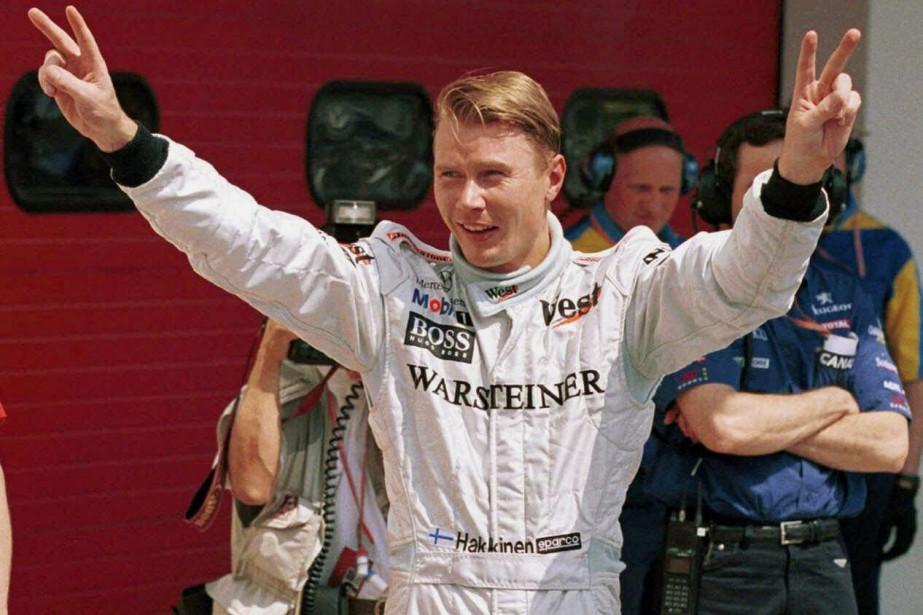 Mika Hakkinen, deux fois champions du monde de...