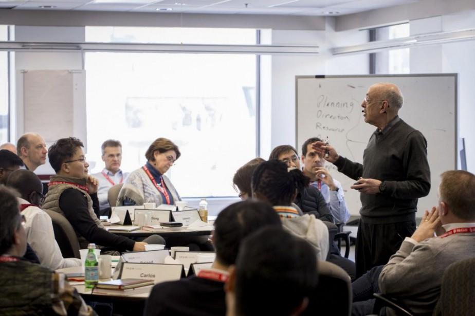 Henry Mintzberg, professeur à la faculté de gestion... (PHOTO FOURNIE PAR LA FACULTÉ DE GESTION DESAUTELS DE L'UNIVERSITÉ MCGILL)