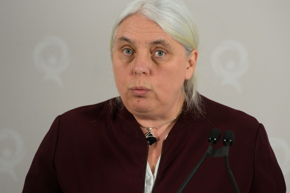 La co-porte-parole de Québec solidaire, Manon Massé.... (PHOTO CAROLE GRÉGOIRE, ARCHIVES LE SOLEIL)