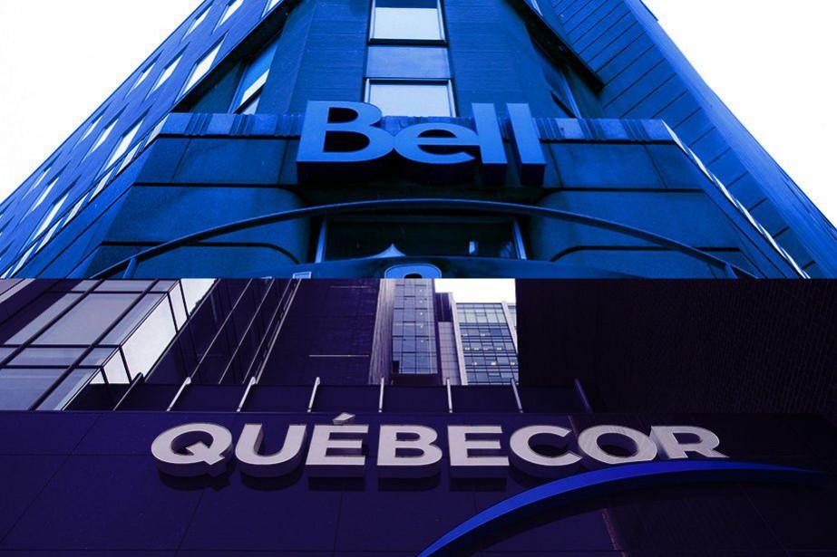 La menace brandie par Québecor de priver les abonnés... (PHOTOMONTAGE LA PRESSE)