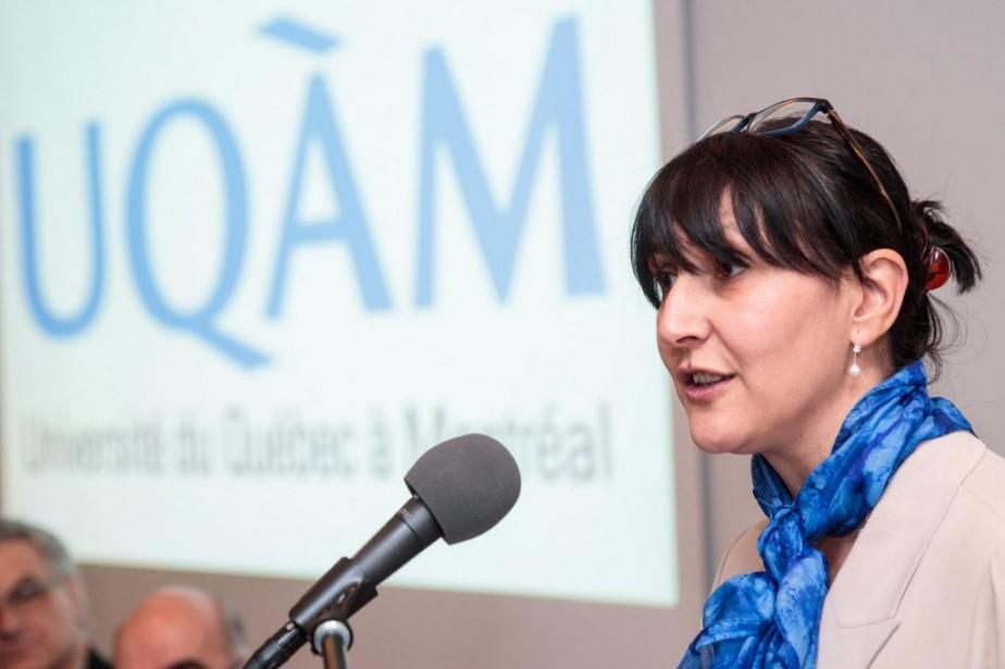 Magda Fusaro,rectrice de l'UQAM... (PHOTO HUGO-SÉBASTIEN AUBERT, ARCHIVES LA PRESSE)