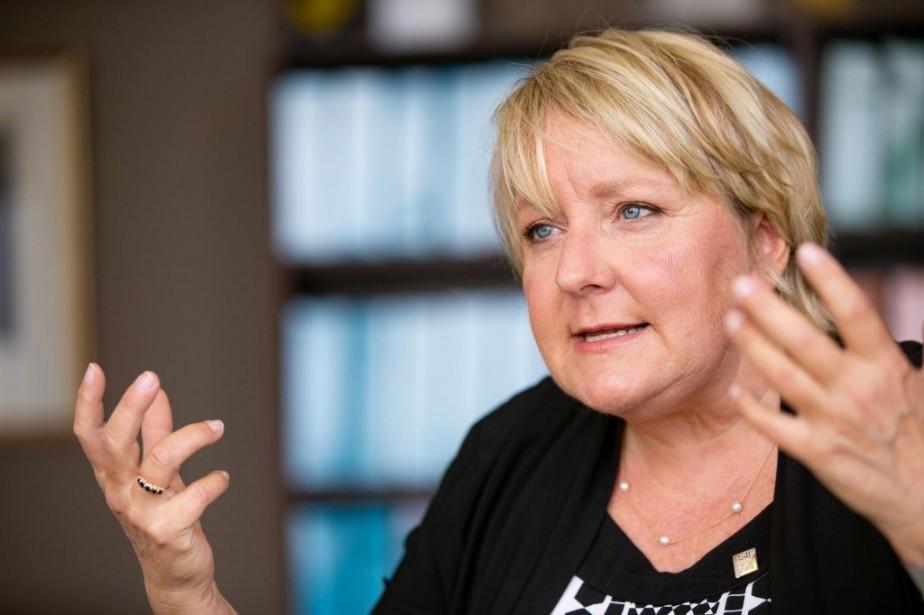 Martine Turcotte, présidente de Bell au Québec... (PHOTO DAVID BOILY, ARCHIVES LA PRESSE)