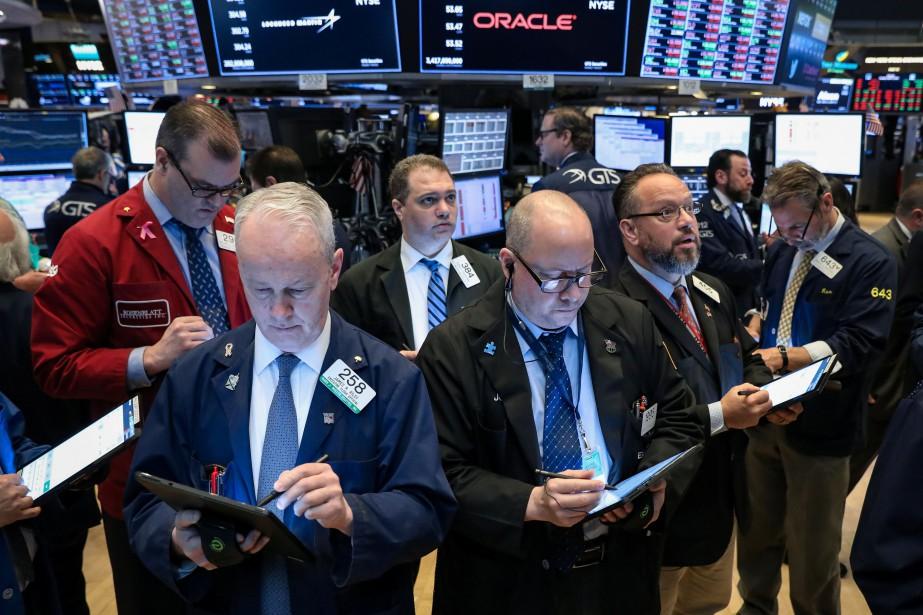 Le Dow Jones prenait 0,12% et le NASDAQ... (PHOTO BRENDAN MCDERMID, REUTERS)