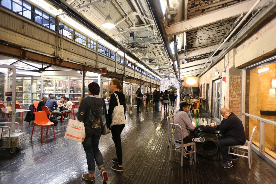 Le Chelsea Market à New York... (PHOTO MARTIN CHAMBERLAND, ARCHIVES LA PRESSE)