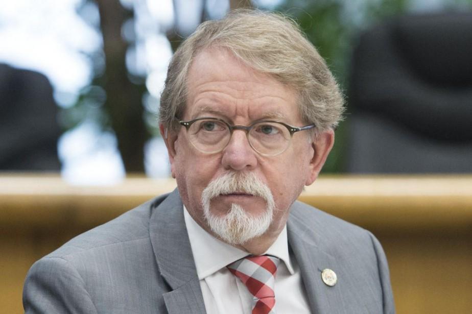 Le maire de Hampstead, William Steinberg... (PHOTO GRAHAM HUGHES, LA PRESSE CANADIENNE)