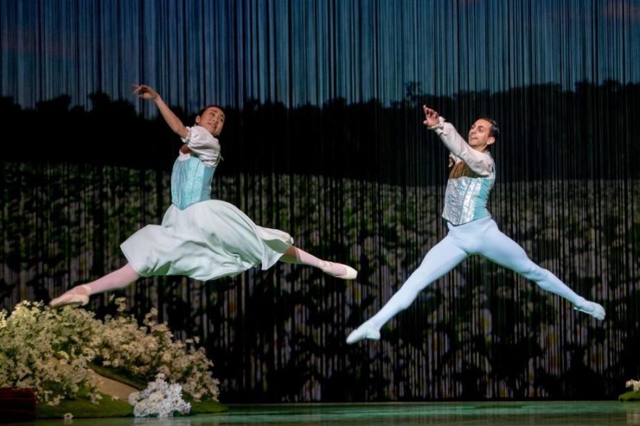 Véritable classique du ballet romantique, Giselle a été... (PHOTO OLIVIER JEAN, LA PRESSE)