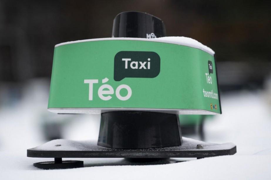 Téo Taxi a cessé ses activités à la... (PHOTOPAULCHIASSON, LA PRESSE CANADIENNE)