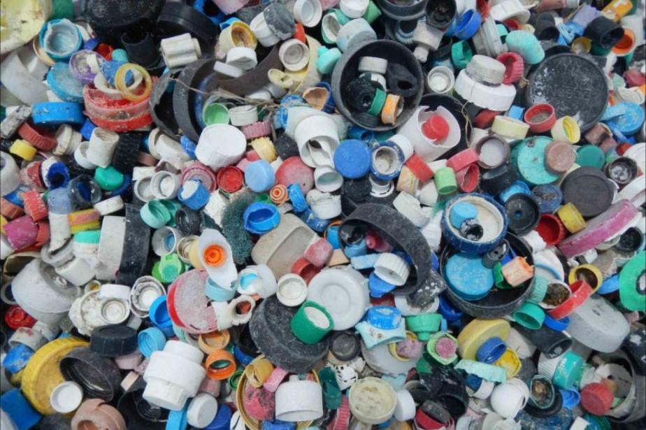 Un total de 4781 bouchons de plastique ont... (PHOTO FOURNIE PAR LA NATIONAL OCEANIC AND ATMOSPHERIC ADMINISTRATION)
