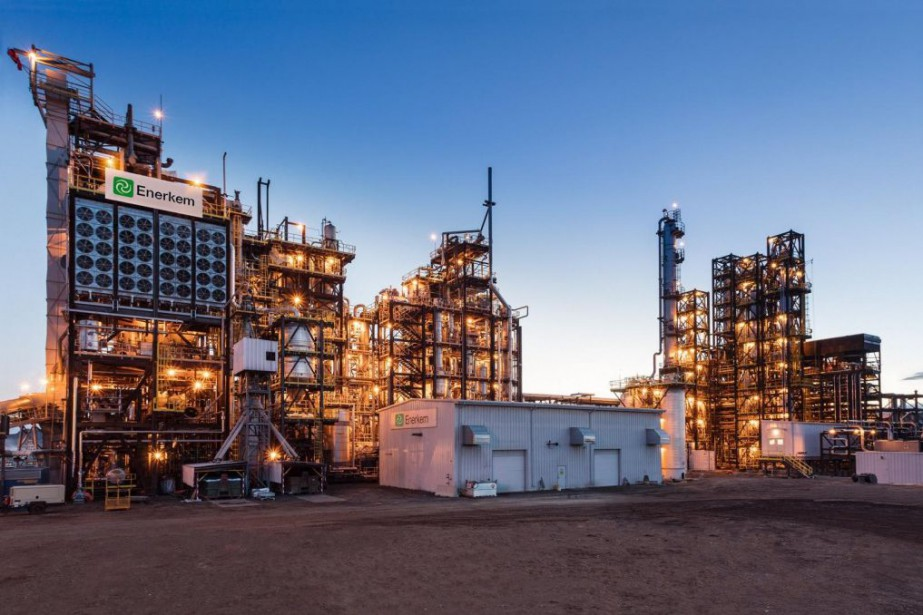 L'usine de production d'éthanol d'Enerkem à Varennes s'inspirera... (PHOTO FOURNIE PAR ENERKEM)