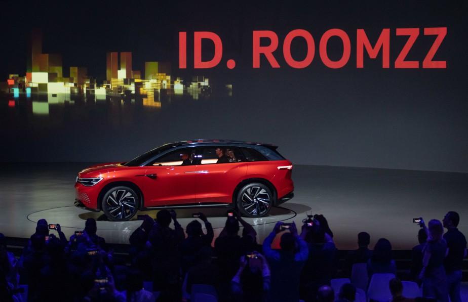Le prototype Volkswagen ID. ROOMZZ a été montré en marge du Salon de l'auto de Shanghaï. | 16 avril 2019