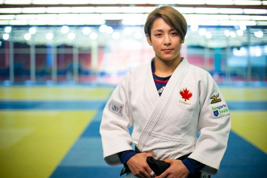 La judoka Christa Deguchi vise la médaille d'or... (PHOTO DAVIDBOILY, LA PRESSE)