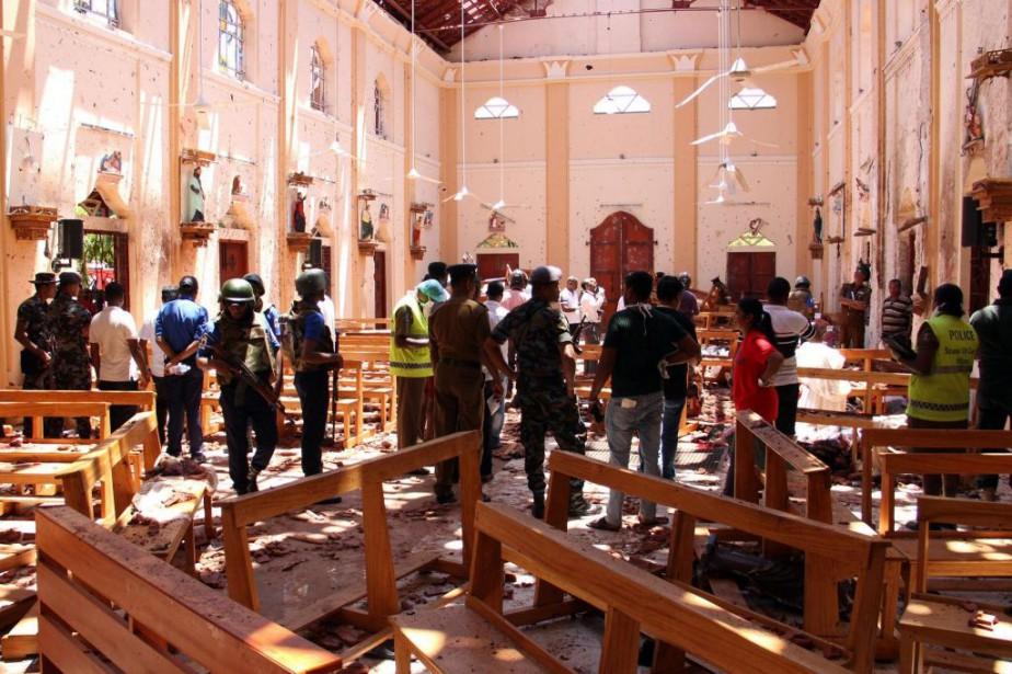 L'église Saint-Sébastien de Negombo fait partie des lieux... (PHOTO AGENCE FRANCE-PRESSE)