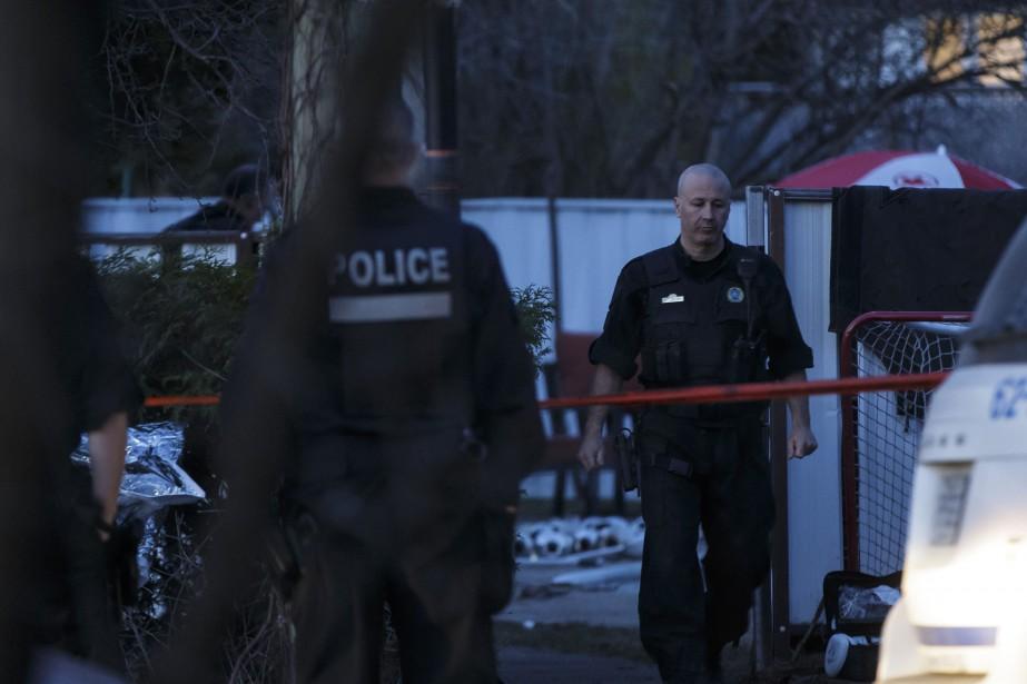 Les policiers n'étaient pas en mesure de dévoiler,... (PHOTO OLIVIER JEAN, LA PRESSE)