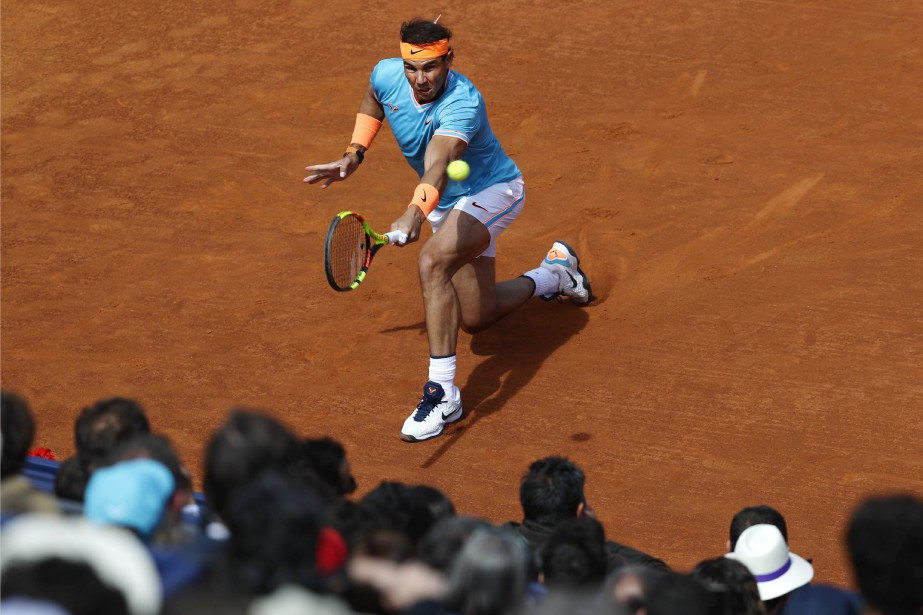 Rafael Nadal... (PHOTO MANU FERNANDEZ, ASSOCIATED PRESS)