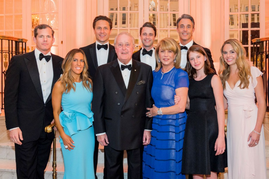 La famille Mulroney: Andrew Lapham, Mark Mulroney, Nicolas... (Crédit photo : Annie Paquin / Cosmos Image)