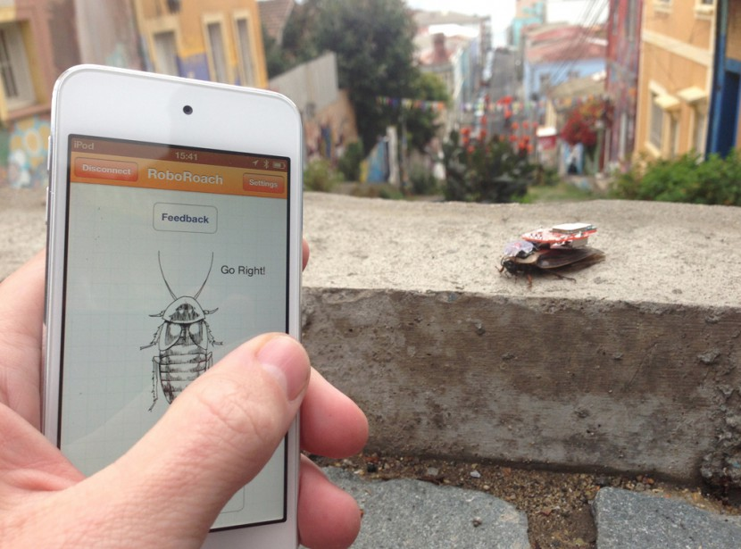 Le RoboRoach permet de contrôler les mouvements d'une... (PHOTO TIRÉE DU SITEBACKYARDBRAINS.COM) - image 7.0