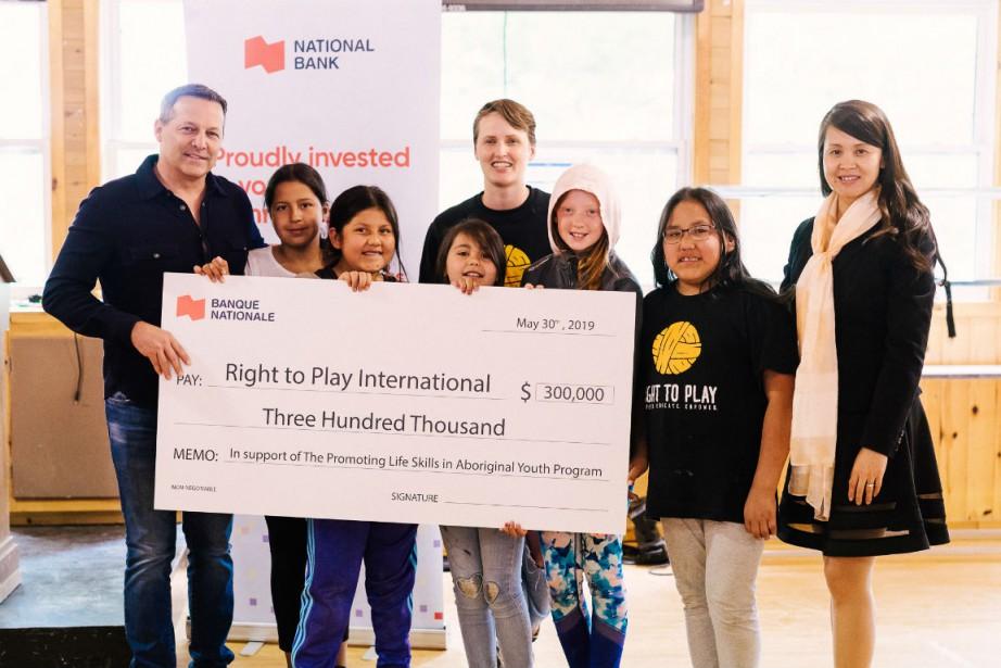 Sean St. John, Thi Be Nguyen, Mallory Hilkewich... (Photo fournie par la Banque Nationale)