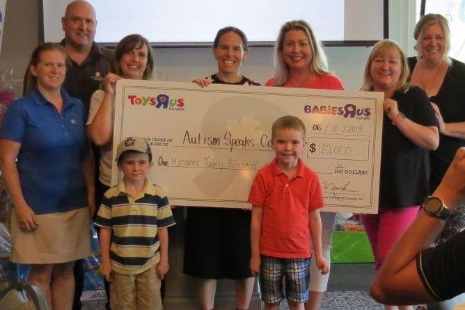 """Toys""""R""""Us Canada a tenu le 18e juin dernier... (Photo fournie par Autism Speaks)"""