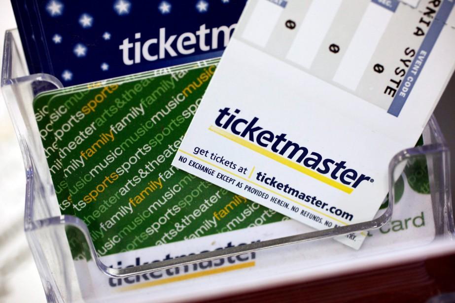 Ticketmaster devra payer une sanction de 4,5millions de... (PHOTO PAUL SAKUMA, ARCHIVEAP)