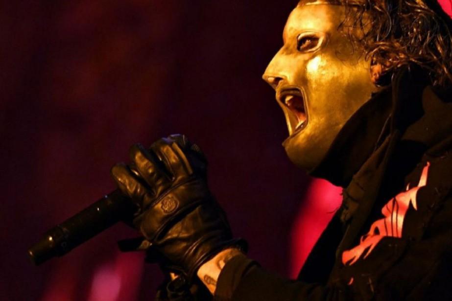 Le groupe métal Slipknot s'est produit devant dizaines... (PHOTO ERICK LABBÉ, LE SOLEIL)